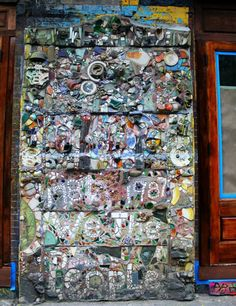 Mosaic by Jim Powers, East Village, Manhattan, New York City