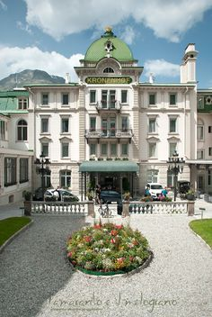 Grand Hotel #Kronenhof - #Pontresina - Switzerland