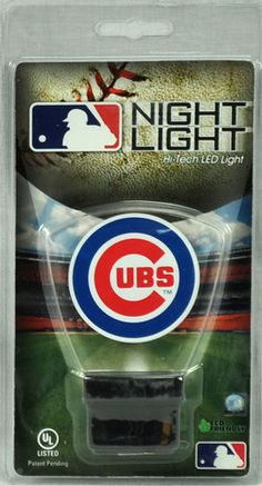 Chicago Cubs LED Eco Friendly Nightlight