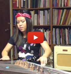 """Impressive cover of Guns N' Roses' """"Sweet Child o' Mine"""" on a Chinese zither"""