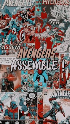 Credits to owner Avengers Comics, The Avengers, Marvel Memes, Marvel Dc Comics, Marvel Universe, Marvel Background, Rock Poster, Die Rächer, Avengers Wallpaper