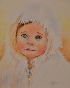 Watercolor Portraits - Watercolours by Cady Driver