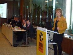 Unsere Geschäftsführerin Claudia Wagner auf der ITB 2013 #itb2013 #itb