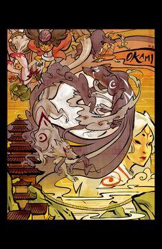 Okami: New Moon by ~2beats on deviantART