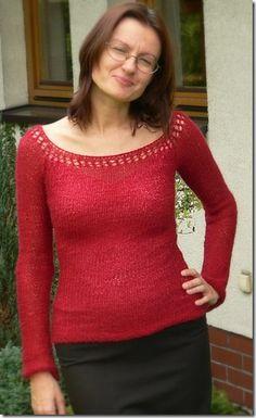 przepis na sweter