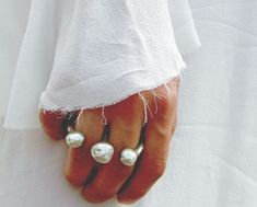Tripple Pearls / / LANE