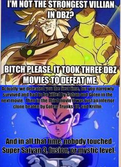 Go Vegeta! Or should I , say... Gogeta? Dbz puns for life.