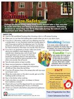 September and October are peak months for fires in college housing; NFPA urges students to be safe association national insurance number Fire Safety Tips, Fire Safety Week, National Insurance Number, Fire Prevention Week, Safety Checklist, Smoke Damage, Safety Topics, Home Safety, Home Health