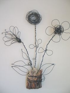 Art as Usual: Search results for Wire flowers