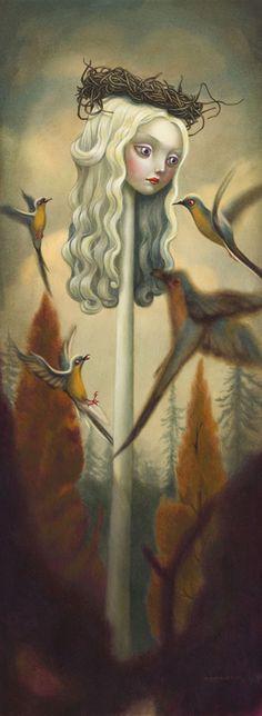 Alice au Pays des Merveilles, d'après Benjamin Lacombe
