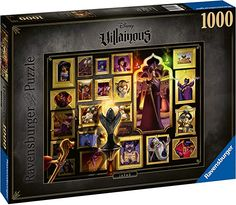 Amazon.com: Ravensburger Disney Villainous Jafar 1000 Piece Jigsaw Puzzle for Adults – Every Piece is Unique, Softclick Technology Means Pieces Fit Together Perfectly: Toys & Games