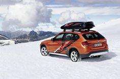 BMW Concept K2 Powder Ride und der BMW X1 Edition Powder Ride. - Autoblog Deutschland