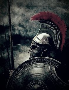 """"""" Sparta was a warrior society in ancient Greece that reached the height of its power after defeating rival city-state Athens in the Peloponnesian War B. Spartan culture was. Greek Warrior, Fantasy Warrior, Fantasy Art, Gladiator Tattoo, Spartan Tattoo, Spartan Warrior, Spartan Helmet, Mythology Tattoos, Armadura Medieval"""