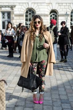 woman, elegant, street fashion