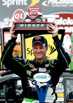 Jr. wins the Quicken Loans 400 at MIS