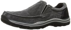 Skechers USA Mens Expected Avillo RelaxedFit SlipOn Loafer -- Check out this great product. (This is an Amazon affiliate link)