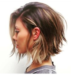 {this with bangs…when I get to this length in a few months!}
