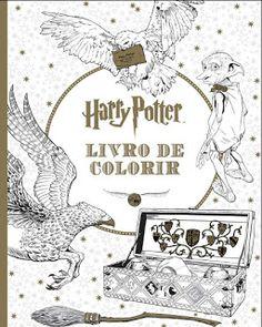 Livros Junior e Juvenil: Passatempo: Harry Potter - Livro de colorir