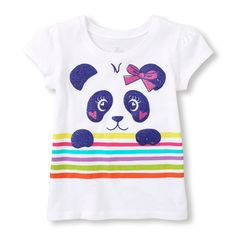 Check out The Children's Place for a great selection of kids clothes, baby clothes & more. Baby Girl Shirts, Baby Girl Tops, Shirts For Girls, Cute Outfits For Kids, Boy Outfits, Baby Dress Design, Baby Outfits Newborn, Kids Fashion, Graphic Tees