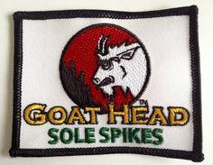Goat Head Gear Logo Fabric Patch $5.95