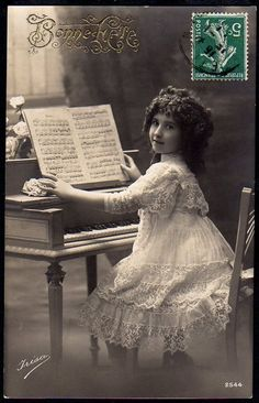 vintage piano lessons
