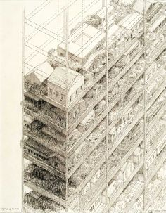 James WInes,  Highrise of Homes, 1981