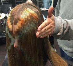 Pixelated The new hair color revolution Trends 2018, Bleach Hair Color, Curly Hair Styles, Natural Hair Styles, Blonde Hair Shades, Brunette Color, Fantasy Hair, Wild Hair, Bleached Hair