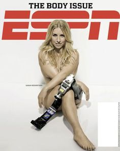 Nude and disabled Ironman Kona triathlete lands on ESPN Magazine cover - Wellsphere