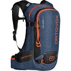 Ortovox Free Rider 26 L Black Raven : Ski & Snowboard Backpacks Nylons, Ski Freeride, Unisex, Snowboard Bag, Schuster, Rider, Big Hips, Oxford, Puffy Jacket