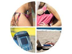 Los mejores sitios para guardar el móvil en la playa