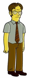 Springfield Punx: Dwight K. Schrutte
