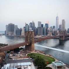 "nycgo: ""Brooklyn Bridge Park (Photo: @camilleschaer)"""
