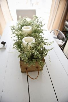 DIY Rustic Wooden Box Centerpiece - See How You Can Make This Beautiful Rustic Wooden Box . DIY Rustic Wooden Box Centerpiece - See How You Can Make This Beautiful Rustic . Wooden Box Centerpiece, Dining Room Table Centerpieces, Rustic Centerpieces, Table Decorations, Centerpiece Ideas, Centrepieces, Dinning Room Table Decor, Flower Box Centerpiece, Porch Table