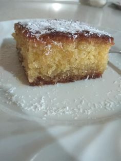Greek Pastries, Raisin Recipes, Greek Sweets, Greek Recipes, Vanilla Cake, Food And Drink, Dishes, Desserts, Cooking