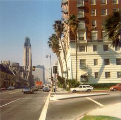 Wilshire Blvd, Los Angeles, 1972