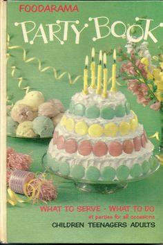 Foodarama Party Book by Kelvinator 1959 vintage Cook Book