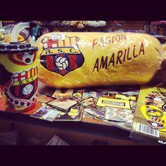 Pasión Amarilla ! Pregunta por nuestros demás productos de BSC! Termos, llaveros, almohadones y mucho más!
