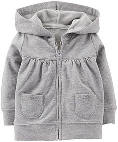 Carter's Baby Girls' Table Cardigan (Baby) - Heather - Listing price: $22.00 Now: $14.49