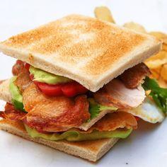 ESSEN & TRINKEN - Hähnchen-Club-Sandwich Rezept