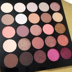 The NEW MUA Burning Embers Eyeshadow Palette