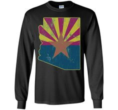 Cool Vintage Distressed Arizona State Outline Flag ShirtFind out more at https://www.itee.shop/products/cool-vintage-distressed-arizona-state-outline-flag-shirt-ls-ultra-cotton-tshirt-b01ctbaf8e #tee #tshirt #named tshirt #hobbie tshirts #Cool Vintage Distressed Arizona State Outline Flag Shirt