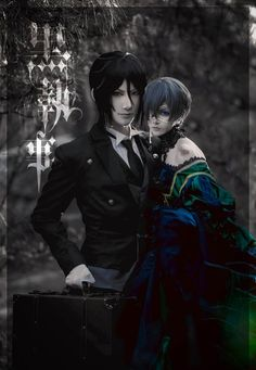 "Never thought i'd say this but that's Senpai & Ciel omg. ""In real life"" Feral & Ciel Sebastian & Ciel Black Butler Kuroshitsuji Cosplay Anime, Ciel Cosplay, Bts Anime, Cosplay Boy, Epic Cosplay, Amazing Cosplay, Anime Guys, Manga Anime, Kawaii Cosplay"