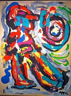 Karel Appel • [CoBrA] art movement