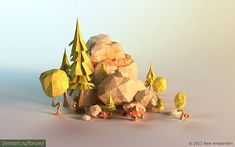 низкополигональная 3D Графика - Google Search