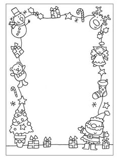 Christmas drawings for print - Weihnachten - kind Christmas Art Projects, Christmas Journal, Christmas Doodles, Christmas Drawing, Noel Christmas, Christmas Crafts For Kids, Christmas Activities, Christmas Printables, Christmas Colors