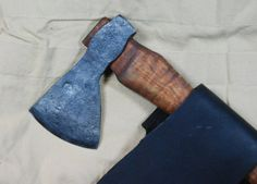 Axe Belt Size Axe Hand Forged Curly Maple Handle by myazel on Etsy, $125.00