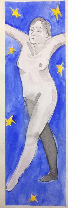 #art #drawing #watercolor #sketchbook la danza