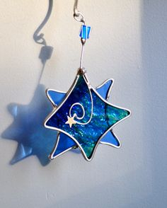 Stained Glass Twinkle Star