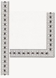 Pour finaliser le damier        Dominique vous propose de réaliser ce tour en 2 couleurs, largeur 2.9 cm.                            Si...