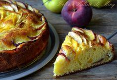 Ricetta torta di pesche e mele | Dolce e Salato di Miky